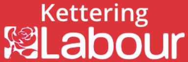 Kettering Labour logo